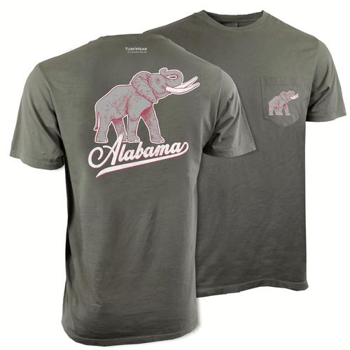 Men's Tuskwear Alabama Elephant Tee
