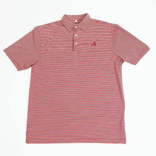 Men's Tuskwear Alabama Pinnacle Stripe Polo