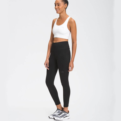 Women's The North Face Motivation High-Rise 7/8 Pocket Tight - TNF Black Front