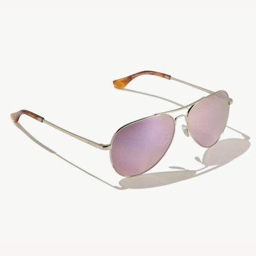 Bajio Soldado Rose Gold Sunglasees -Pink Plastic Lens