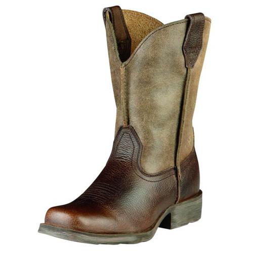 Kids' Rambler Western Boot - Earth Front