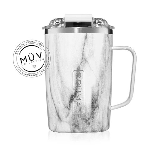 BrüMate 16 oz. Toddy Mug - Carrara