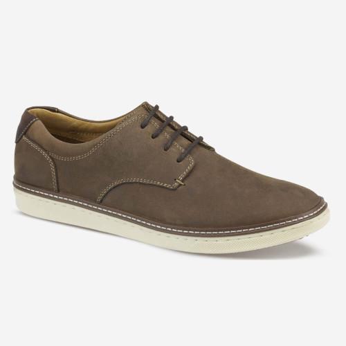 Men's Johnston & Murphy® McGuffey Plain Toe - Tan Oiled Full Grain Front