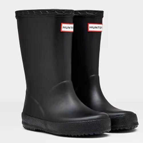 Kids' Hunter Original First Classic Rain Boots Black