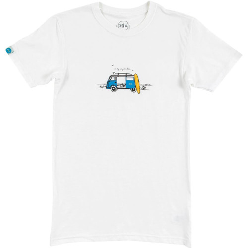 Women's 30A On My Way to 30A White Short Sleeve Tee