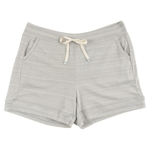Women's 30A French Terry Ribbed Drawstring Shorts - Oatmeal