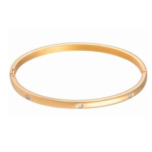Sahira Gold Elsie Eternity Bracelet