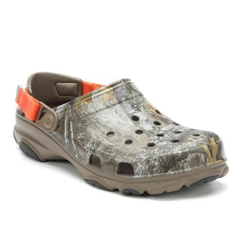Men's Crocs™ Classic All-Terrain Realtree Edge Clog Walnut