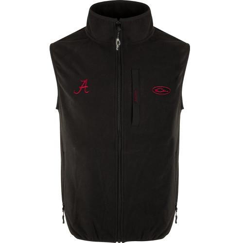 Men's Drake Alabama Camp Fleece Vest