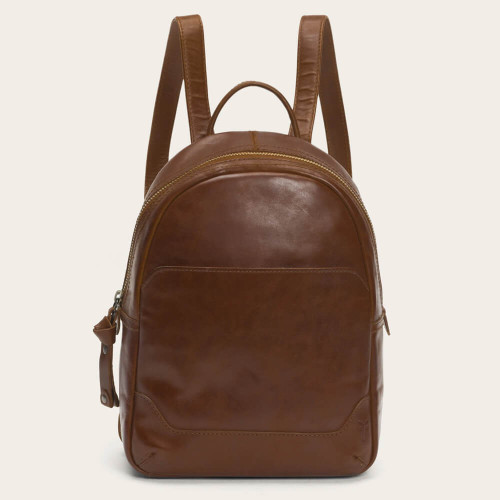 Frye Melissa Medium Backpack Cognac
