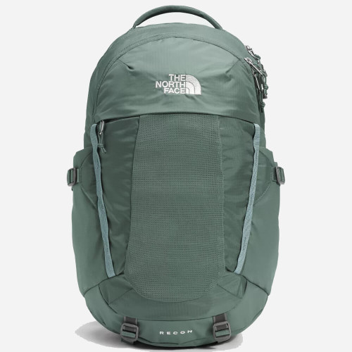 Women's The North Face Recon Pack 17NLaurelWreathGreen/SilverBlue Front