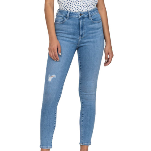 Women's Cello High Rise Ankle Skinny Jean Front