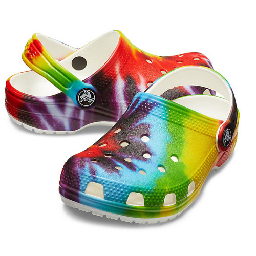 Kids' Crocs™ Classic Tie-Dye Graphic Clog 90HMULTI