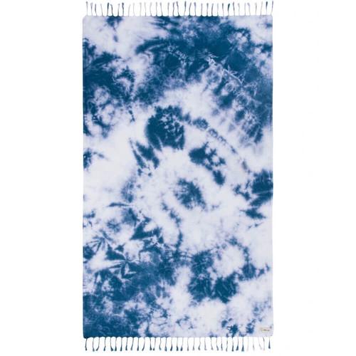 Sand Cloud Navy Acid Wash Tie Dye Towel