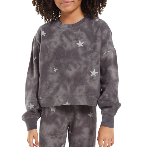 Girls' Z Supply Mila Cloud Star Top Front