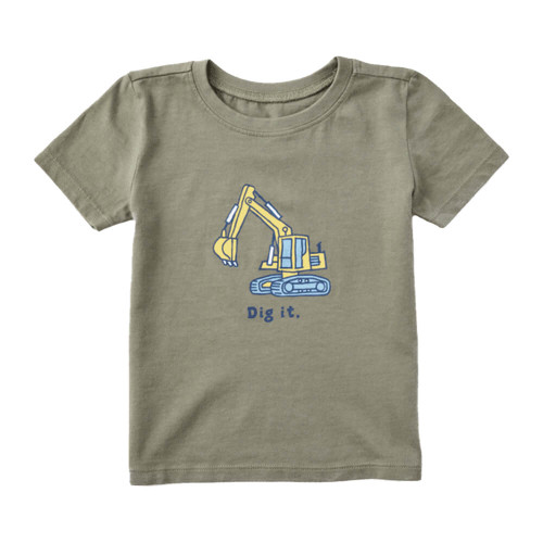 Toddler Boys' Life is Good Dig It Tee