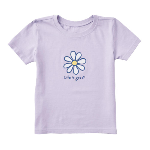 Toddler Girls' Life is Good Daisy Tee