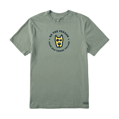 Men's Life is Good Be the Person Tee