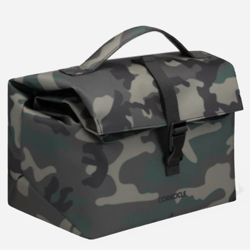 Corkcicle® Nona Roll-Top Lunchbox - Woodland Camo Side