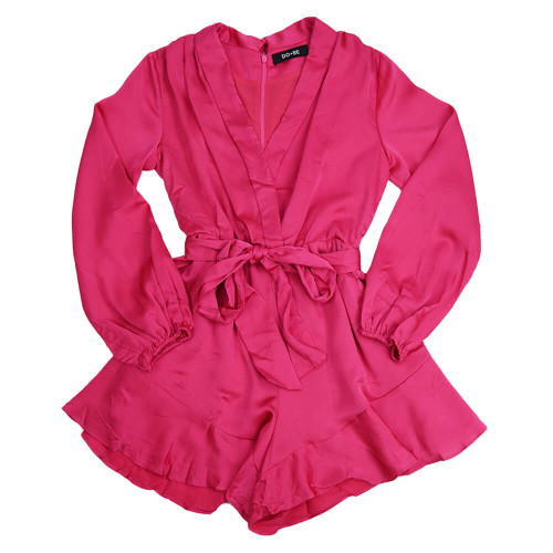 Women's Do+Be Belted Romper Front