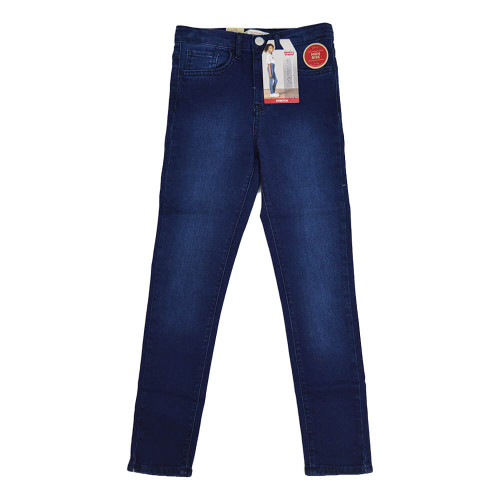 Girls' Levi's High Rise Super Skinny Jeans (Size7-16) K6T Front