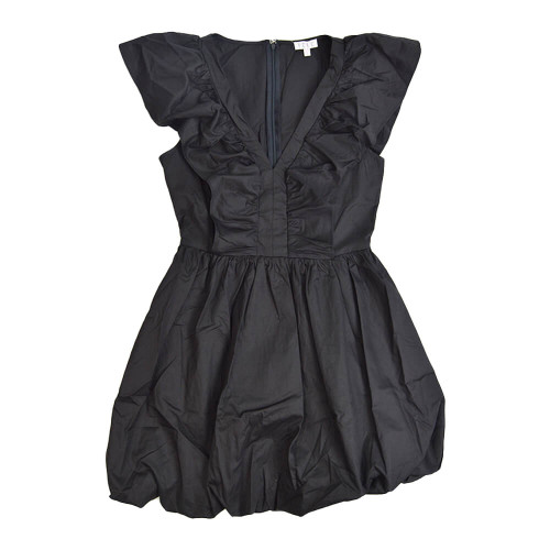 Women's TCEC Fit and Flare V-Neck Dress Front