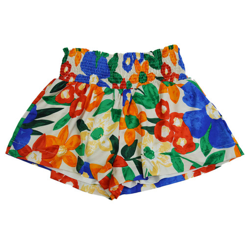 Women's TCEC Floral Smocked Shorts