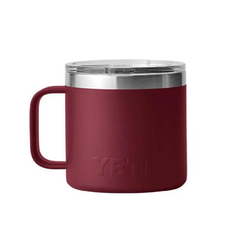 Yeti Rambler® 14 oz. Mug with Magslide Lid - Harvest Red Front