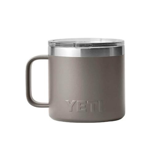 Yeti Rambler® 14 oz. Mug with Magslider Lid - Sharptail Taupe Front