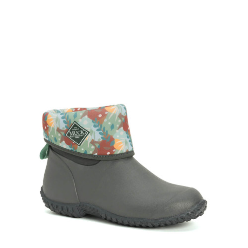 Women's The Original Muck® Boot Company Muckster II Mid Boot - Gray Floral