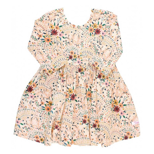 Infant/Toddler Girls' Ruffle Butts Lace Is More Printed Twirl Dress
