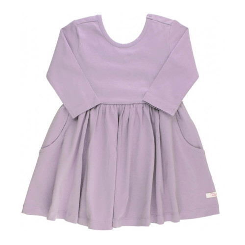 Infant/Toddler Girls' Ruffle Butts Icy Purple Twirl Dress