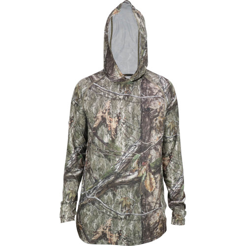 Men's Aftco Mossy Oak Camo Performance Country DNA Hood