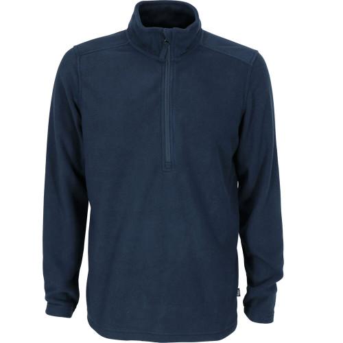 Men's Aftco Sundown 1/4 Zip Navy Sweatshirt