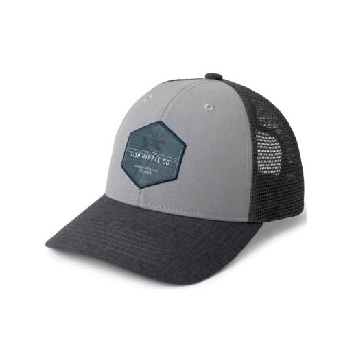 Men's Fish Hippie Crafty Trucker Hat
