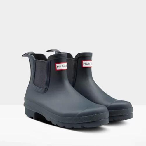 Women's Hunter Original Chelsea Boots Navy