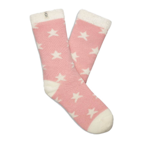 Women's UGG Josephine Fleece Lined Soft Kiss Stars Sock