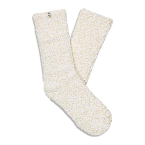 Women's UGG Adah Cozy Chenille Sparkle Cream Sock