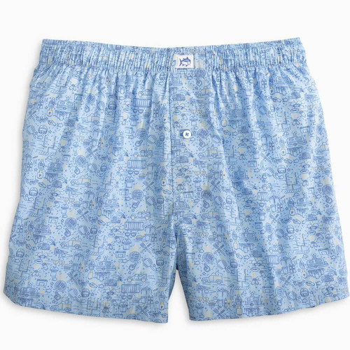 Men's Southern Tide Tailgate Sleep Repeat Boxer