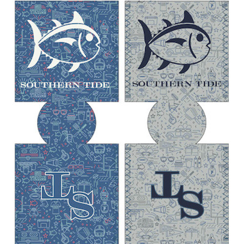 Southern Tide Tailgate Reversible Can Caddie