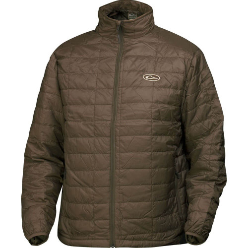 Men's Drake MST Brown Synthetic Down Pac Jacket