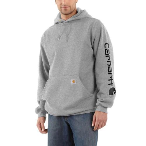 Men's Carhartt Logo Sleeve Graphic Sweatshirt