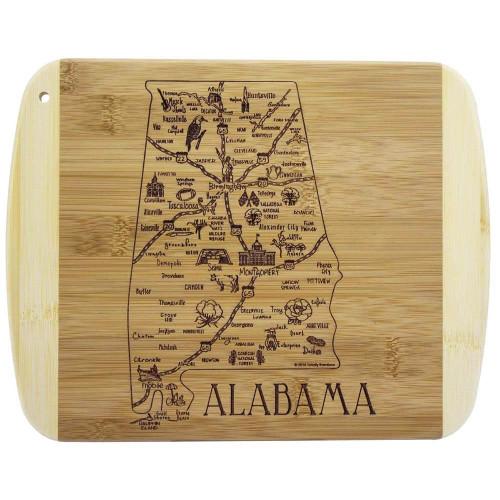 Adults' Totally Bamboo Alabama Slice of Life Cutting Board
