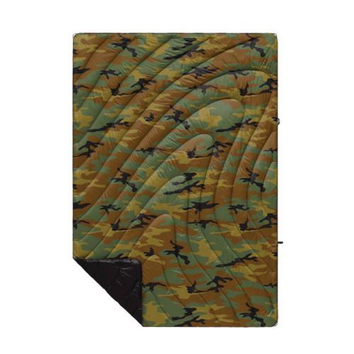 Rumpl Printed Original Puffy Woodland Camo Blanket