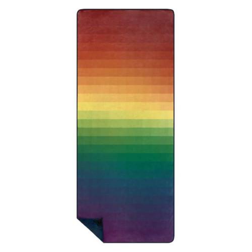 Rumpl Printed Shammy Rainbow Fade Everywhere Towel
