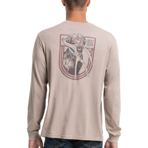 Men's Southern Shirt Co. Antler Shed Lab Driftwood Tee