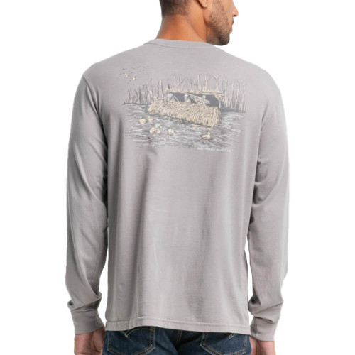 Men's Southern Shirt Co. No Fly Zone Frost Gray Tee