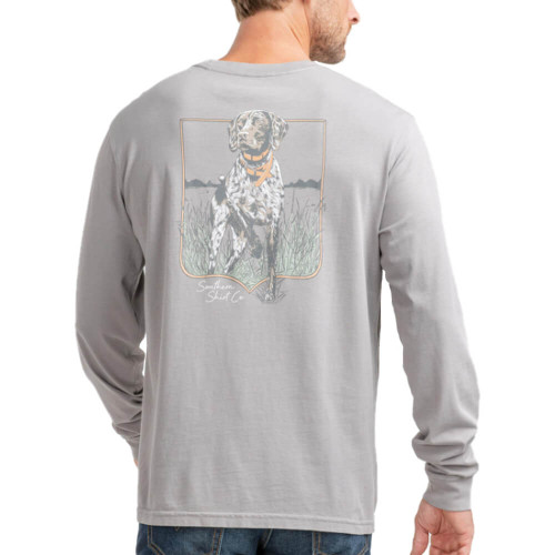 Men's Southern Shirt Co. Pointer Pursuit Frost Gray Tee