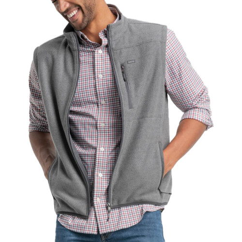 Men's Southern Shirt Co. High Country Frost Gray Vest