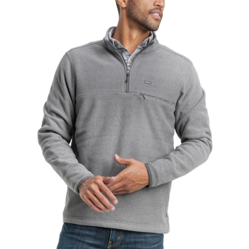 Men's Southern Shirt Co. High Country Frost Gray Pullover